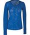 Photograph of WW Originals Women's Long Sleeve Underscrub Knit Tee Blue 4823-ROYW