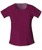 Photograph of WW Originals Women's Round Neck Top Purple 4824-WINW