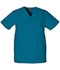 Photograph of WW Originals Unisex Unisex V-Neck Top Blue 4876-CARW