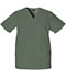 Photograph of WW Originals Unisex Unisex V-Neck Top Green 4876-OLVW