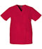 Photograph of WW Originals Unisex Unisex V-Neck Top Red 4876-REDW