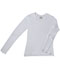 Photograph of WW Originals Women's Long Sleeve Underscrub Knit Tee White 4975-WTPS
