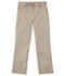 Photograph of Classroom Uniforms Men's Men's Short Stretch Narrow Leg Pant Khaki 50484S-KAK