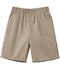 Photograph of Classroom Child Unisex Unisex Husky Pull-On Short Khaki 52133-KAK