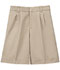 Photograph of Classroom Boy\'s Boys Adj. Waist Pleat Front Short Khaki 52772-KAK