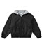 Photograph of Classroom Child's Unisex Youth Unisex Zip Front Bomber Jacket Black 53402-BLK