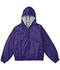 Photograph of Classroom Child's Unisex Youth Unisex Zip Front Bomber Jacket Purple 53402-DKPR
