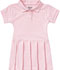 Photograph of Classroom Preschool Toddler S/S Pique Polo Dres Pink 54120-PINK