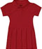 Photograph of Classroom Preschool Toddler S/S Pique Polo Dres Red 54120-RED