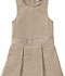 Photograph of Classroom Girl\'s Girls Plus Kick Pleat Jumper Khaki 54453-KAK
