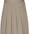 Photograph of Classroom Girl's Girls Pleated Tab Scooter Khaki 55121-KAK