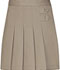 Photograph of Classroom Girl's Girls Pleated Tab Scooter Khaki 55122A-KAK
