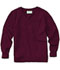 Photograph of Classroom Child's Unisex Youth Unisex Long Sleeve V-neck Sweater Purple 56702-BUR