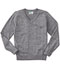 Photograph of Classroom Child Unisex Youth Unisex Long Sleeve V-neck Sweater Gray 56702-HGRY