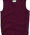 Photograph of Classroom Child Unisex Youth Unisex V- Neck Sweater Vest Purple 56912-BUR