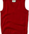 Photograph of Classroom Child's Unisex Youth Unisex V- Neck Sweater Vest Red 56912-RED