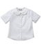 Photograph of Classroom Junior Juniors Short Sleeve Peter Pan Blouse White 57554-WHT