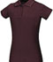 Photograph of Classroom Girl's Girls Stretch Pique Polo Purple 58222-BUR