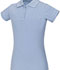 Photograph of Classroom Girl's Girls Stretch Pique Polo Blue 58222-LTB