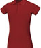 Photograph of Classroom Girl\'s Girls Stretch Pique Polo Red 58222-RED