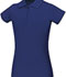 Photograph of Classroom Girl's Girls Stretch Pique Polo Blue 58222-SSRY