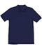 Photograph of Classroom Child Unisex Youth Unisex Short Sleeve Pique Polo Blue 58322-DNVY