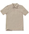 Photograph of Classroom Child's Unisex Youth Unisex Short Sleeve Pique Polo Khaki 58322-KAK