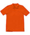 Photograph of Classroom Child\'s Unisex Youth Unisex Short Sleeve Pique Polo Orange 58322-ORG