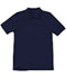 Photograph of Classroom Child's Unisex Youth Unisex Short Sleeve Pique Polo Blue 58322-SSNV