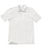 Photograph of Classroom Child's Unisex Youth Unisex Short Sleeve Pique Polo White 58322-SSWT