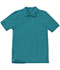 Photograph of Classroom Child Unisex Youth Unisex Short Sleeve Pique Polo Blue 58322-TEAL