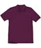 Photograph of Classroom Child Unisex Youth Unisex Short Sleeve Pique Polo Purple 58322-WINE