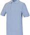 Photograph of Classroom Unisex Adult Unisex Short Sleeve Pique Polo Blue 58324-LTB