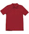 Photograph of Classroom Unisex Adult Unisex Short Sleeve Pique Polo Red 58324-RED