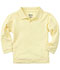 Photograph of Classroom Child's Unisex Youth Unisex Long Sleeve Pique Polo Yellow 58352-YEL