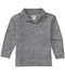 Photograph of Classroom Unisex Adult Unisex Long Sleeve Pique Polo Gray 58354-HGRY