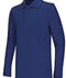 Photograph of Classroom Unisex Adult Unisex Long Sleeve Pique Polo Blue 58354-ROY