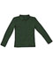 Photograph of Classroom Girl Girls Long Sleeve Fitted Interlock Polo Green 58542-SSHN