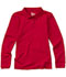 Photograph of Classroom Junior's Junior Long Sleeve Fitted Interlock Polo Red 58544-RED