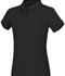 Photograph of Classroom Girl\'s Girls Short Sleeve Fitted Interlock Polo Black 58582-BLK