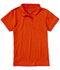 Photograph of Classroom Girl\'s Girls Short Sleeve Fitted Interlock Polo Orange 58582-ORG