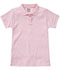 Photograph of Classroom Girl Girls Short Sleeve Fitted Interlock Polo Pink 58582-PINK