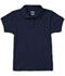 Photograph of Classroom Junior\'s Junior SS Fitted Interlock Polo Blue 58584-DNVY