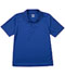 Photograph of Classroom Child's Unisex Youth Unisex Moisture-Wicking Polo Shirt Blue 58602-SSRY
