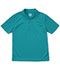 Photograph of Classroom Child's Unisex Youth Unisex Moisture-Wicking Polo Shirt Blue 58602-TEAL