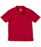 Photograph of Classroom Unisex Adult Unisex Moisture-Wicking Polo Shirt Red 58604-RED