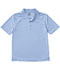 Photograph of Classroom Unisex Adult Unisex Moisture-Wicking Polo Shirt Blue 58604-SSLB