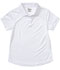 Photograph of Classroom Girl's Girls S/S Moisture Wicking Polo White 58632-SSWT