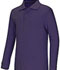 Photograph of Classroom Unisex Adult Unisex Long Sleeve Interlock Polo Purple 58734-PUR
