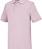 Photograph of Classroom Child\'s Unisex Youth Unisex Short Sleeve Interlock Polo Pink 58912-PINK